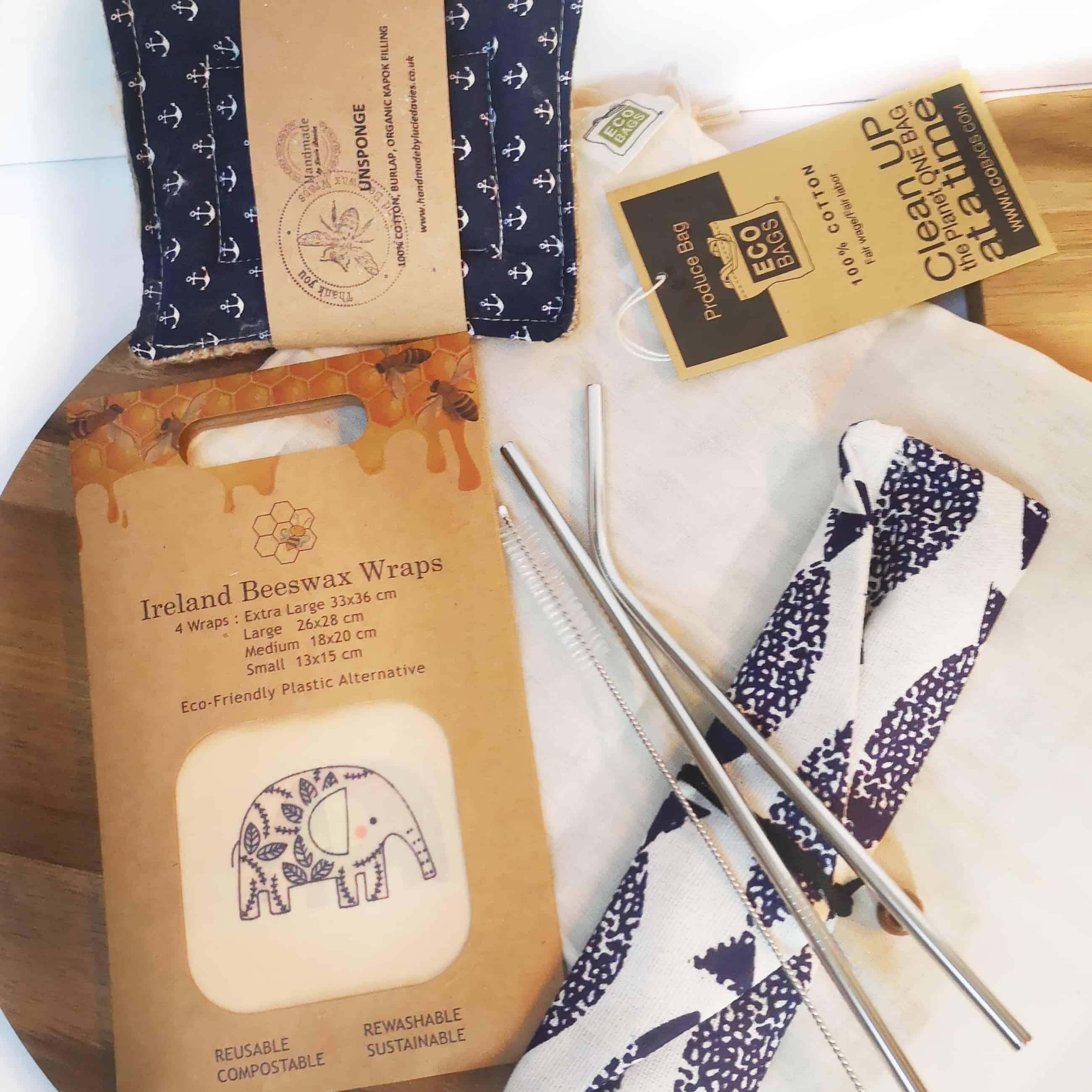 Zero Waste Kitchen Kit Ireland Beeswax Wraps